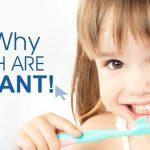 چرا دندان شیری بسیار مهم است؟